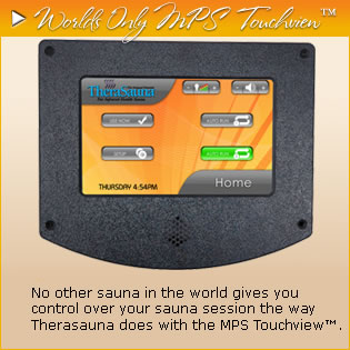 Information about the MPS controller for TheraSauna brand FIR saunas